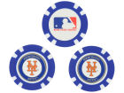 New York Mets Team Golf Golf Poker Chip Markers 3 Pack Toys & Games