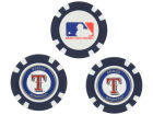Texas Rangers Team Golf Golf Poker Chip Markers 3 Pack Toys & Games