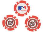 Washington Nationals Team Golf Golf Poker Chip Markers 3 Pack Toys & Games