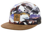 LRG Motherland Camo 5 Panel Camper Cap Adjustable Hats