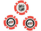 Carolina Hurricanes Team Golf Golf Poker Chip Markers 3 Pack Toys & Games