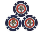 Florida Panthers Team Golf Golf Poker Chip Markers 3 Pack Toys & Games