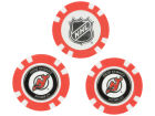 New Jersey Devils Team Golf Golf Poker Chip Markers 3 Pack Toys & Games