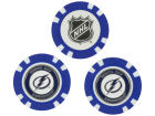 Tampa Bay Lightning Team Golf Golf Poker Chip Markers 3 Pack Toys & Games