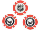 Washington Capitals Team Golf Golf Poker Chip Markers 3 Pack Toys & Games