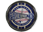 San Diego Padres Chrome Clock Bed & Bath