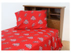 Ohio State Buckeyes Twin Bed Sheet Set Bed & Bath