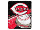 Cincinnati Reds The Northwest Company 50x60in Sherpa Throw Bed & Bath