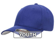 JV Flexfit Youth Home Run Hat Stretch Fitted Hats