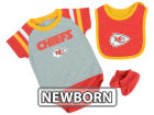 Kansas City Chiefs Outerstuff NFL Newborn Little Player CBB Set Infant Apparel