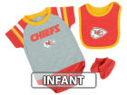Kansas City Chiefs Outerstuff NFL Infant Little Player CBB Set Infant Apparel
