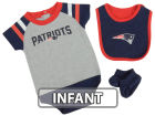 New England Patriots Outerstuff NFL Infant Little Player CBB Set Infant Apparel