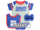 New York Giants Outerstuff NFL Infant Little Player CBB Set Infant Apparel