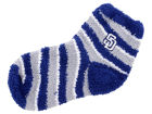 San Diego Padres For Bare Feet Sleep Soft Candy Stripe Sock Apparel & Accessories