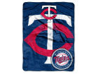 Minnesota Twins The Northwest Company Micro Raschel 46x60 Triple Play Bed & Bath