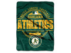 Oakland Athletics The Northwest Company Micro Raschel 46inch x 60inch Structure Blanket Bed & Bath