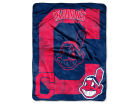 Cleveland Indians The Northwest Company Micro Raschel 46x60 Triple Play Bed & Bath