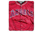 Los Angeles Angels of Anaheim The Northwest Company 50x60in Plush Throw Jersey Bed & Bath