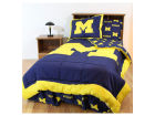 Michigan Wolverines The Northwest Company Bed in a Bag-Twin Bed & Bath