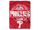 Philadelphia Phillies The Northwest Company Micro Raschel 46inch x 60inch Structure Blanket Bed & Bath