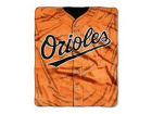 Baltimore Orioles The Northwest Company 50x60in Plush Throw Jersey Bed & Bath