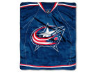 Columbus Blue Jackets The Northwest Company 50x60in Plush Throw Jersey Bed & Bath