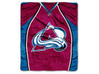Colorado Avalanche The Northwest Company 50x60in Plush Throw Jersey Bed & Bath