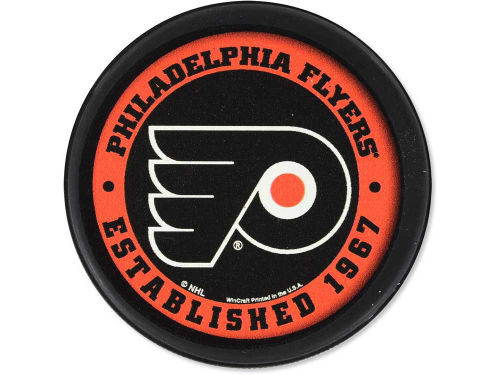 Philadelphia Flyers Wincraft Flat Team Puck