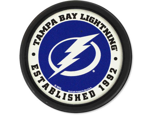 Tampa Bay Lightning Wincraft Flat Team Puck