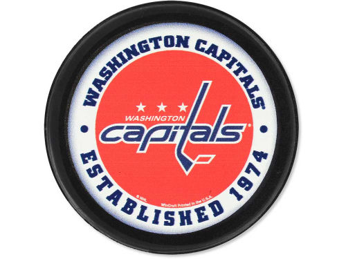 Washington Capitals Wincraft Flat Team Puck