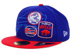Buffalo Bills New Era NFL Patch Batcher 59FIFTY Cap Fitted Hats