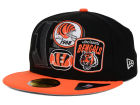 Cincinnati Bengals New Era NFL Patch Batcher 59FIFTY Cap Fitted Hats