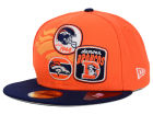 Denver Broncos New Era NFL Patch Batcher 59FIFTY Cap Fitted Hats