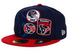 Houston Texans New Era NFL Patch Batcher 59FIFTY Cap Fitted Hats