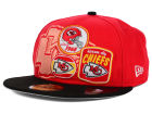Kansas City Chiefs New Era NFL Patch Batcher 59FIFTY Cap Fitted Hats