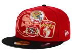 San Francisco 49ers New Era NFL Patch Batcher 59FIFTY Cap Fitted Hats