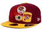 Washington Redskins New Era NFL Patch Batcher 59FIFTY Cap Fitted Hats
