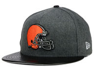 New Era NFL Leather Melton 59FIFTY Cap Fitted Hats