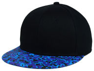 Concept One Pop Printed Visor Snapback Hat Adjustable Hats
