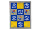 Kansas Jayhawks Spirit Blanket Bed & Bath
