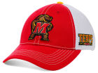 Maryland Terrapins Top of the World NCAA Ruckus Hat Stretch Fitted Hats