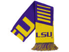 LSU Tigers Forever Collectibles Knit Scarf Wordmark Apparel & Accessories