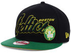 Boston Celtics New Era NBA HWC Black-Top 9FIFTY Snapback Cap Adjustable Hats