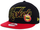 Houston Rockets New Era NBA HWC Black-Top 9FIFTY Snapback Cap Adjustable Hats