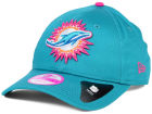 Miami Dolphins New Era NFL 2014 Womens Breast Cancer Awareness 9FORTY Cap Adjustable Hats