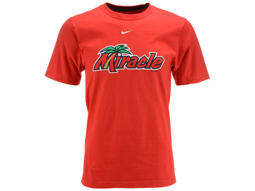 Fort Myers Miracle Nike MiLB All Purpose Wordmark T-Shirt