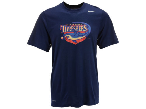 Clearwater Threshers Nike MiLB Logo Legend T-Shirt