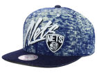 Brooklyn Nets Mitchell and Ness NBA Dirty Denim Snapback Hat Adjustable Hats