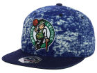 Boston Celtics Mitchell and Ness NBA Dirty Denim Fitted Hat Hats