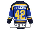 St. Louis Blues David Backes Reebok NHL Kids Replica Player Jersey Jerseys